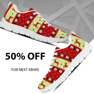 Christmas Pattern Kid's Running Shoes - - Ineffable Shop