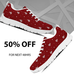 Christmas Tree Women's Running Shoes - Ineffable Shop