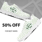 St.Patrick's Day Women's Running Shoes - - Ineffable Shop