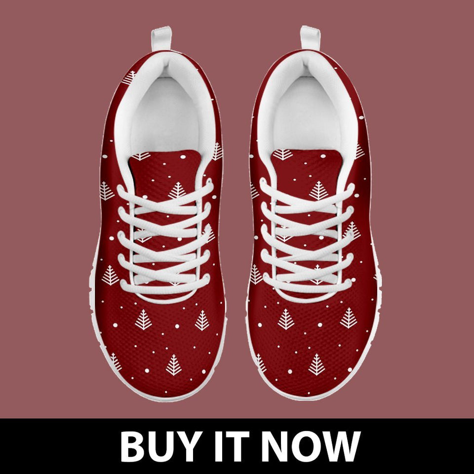 Christmas Tree Kid's Running Shoes - - Ineffable Shop