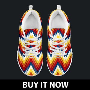 New Native American Indian Kid's Sneaker Design NT068 - - Ineffable Shop