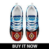 Native American Pattern Women's Costume Shoes NT095 - - Ineffable Shop