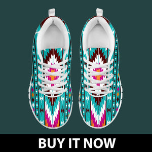 New Native American Indian Kid's Sneaker NT048 - - Ineffable Shop