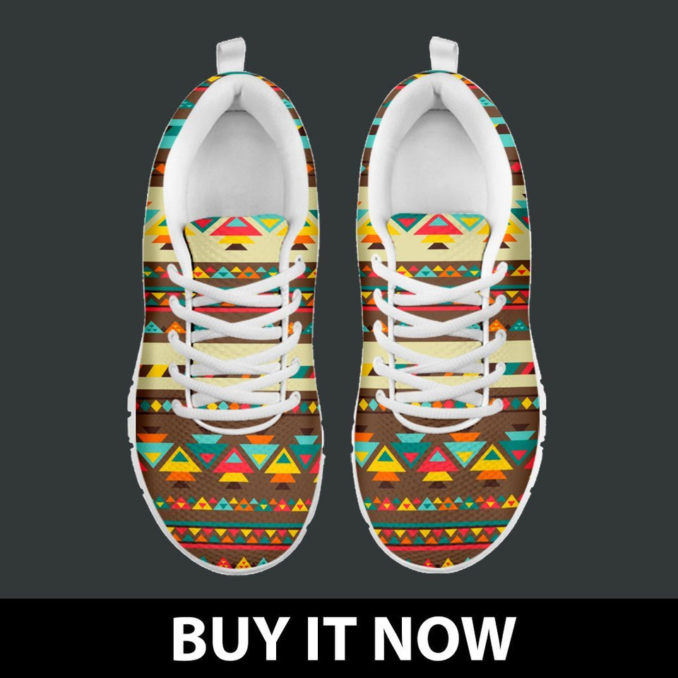 Native American Indian Pattern Women's Shoes NT084 - - Ineffable Shop