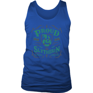 Slytherin District Mens Tank - District Mens Tank / Royal Blue / S - Ineffable Shop