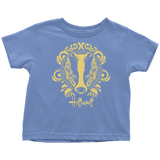 Harry Potter Vintage Hufflepuff Toddler T-Shirt - Toddler T-Shirt / Baby Blue / 2T - Ineffable Shop