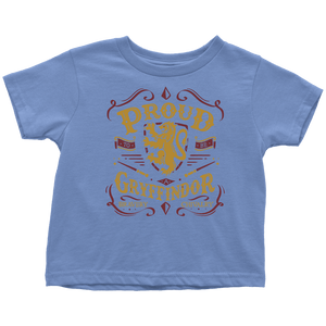 Gryffindor Pride Toddler T-Shirt - Toddler T-Shirt / Baby Blue / 2T - Ineffable Shop