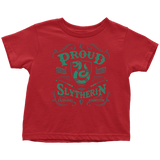 Slytherin Toddler T-Shirt - Toddler T-Shirt / Red / 2T - Ineffable Shop