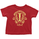 Harry Potter Vintage Hufflepuff Toddler T-Shirt - Toddler T-Shirt / Red / 2T - Ineffable Shop