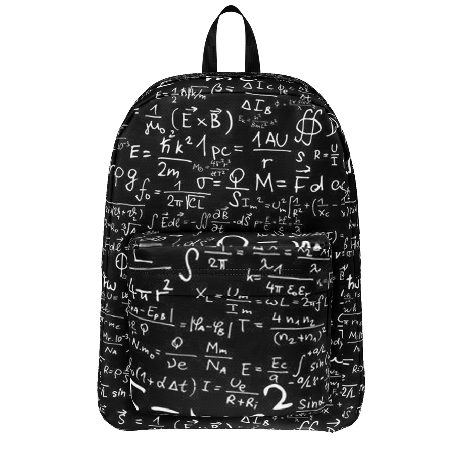 SCIENCE EQUATION BABY BAG