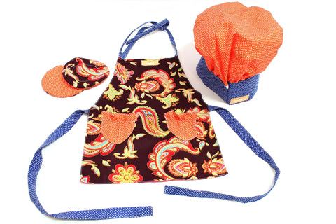 Orange Mandarin Royal Set