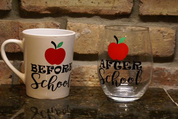 Before and After School Drink Set