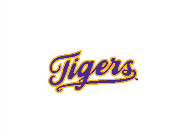LSU Bar Board-16 Tigers Script