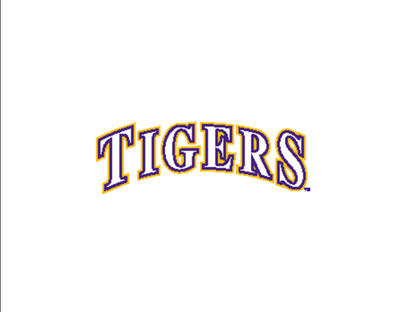 LSU Bar Board-17 Tigers Arched