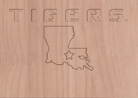MVP-20 T I G E R S Louisiana Outline