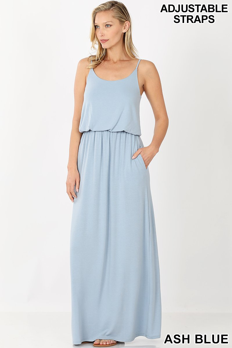 2 LAYER MAXI DRESS