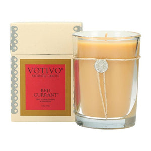 Boxed Aromatic Jar Candle - Red Currant
