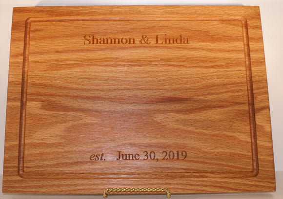Wedding Collection: Kitchen Chef Cutting Board