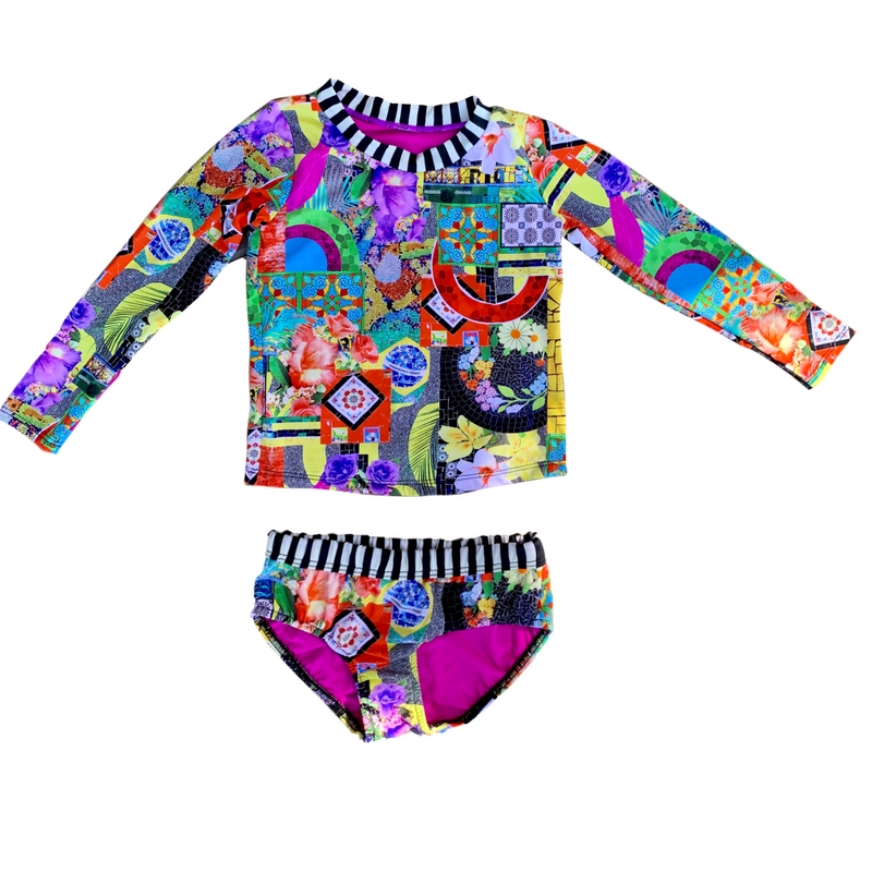 Kids Swimwear, Bikinis sets, One Piece Swimsuits, Monokinis, Matching Print for the whole family. Worldwide Shipping!