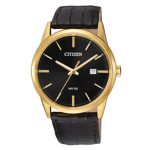 The sleek and stylish Citizen BI5002-06E wristwatch