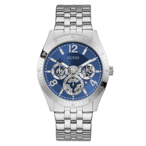 Guess - GW0215G1 - Silver-Tone Multifunction Watch | GW0215G1 - Silver-Tone Multifunction Watch