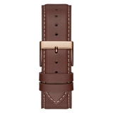 Guess - GW0216G1 -Rose Gold-Tone And Brown Watch | GW0216G1 -Rose Gold-Tone And Brown Watch
