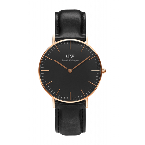 The sleek and stylish DW DW00100009 wristwatch.