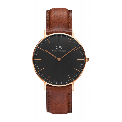 The sleek and stylish DW DW00100007 wristwatch.