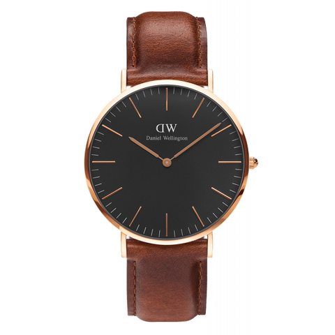 The sleek and stylish DW DW00100003 wristwatch.