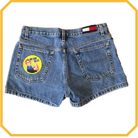Rosie the Riveter Vintage Tommy Hilfiger Shorts - Size XS/S