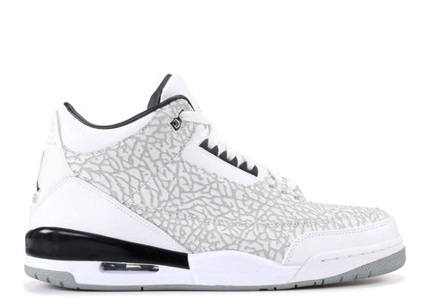 "AIR JORDAN 3 RETRO ""WHITE FLIP 2007""  315767 101"
