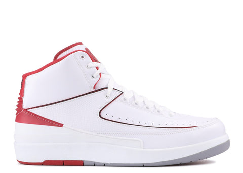 "Air Jordan 2 Retro ""WHITE RED"" 385475 102"