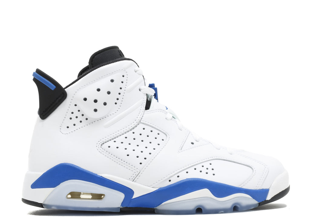 "Air Jordan 6 Retro ""Sport Blue 2014"" 304401 107"