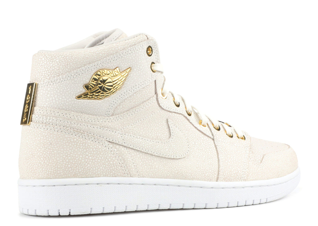 "Air Jordan 1 Retro ""Pinnacle"" White  705075 130"