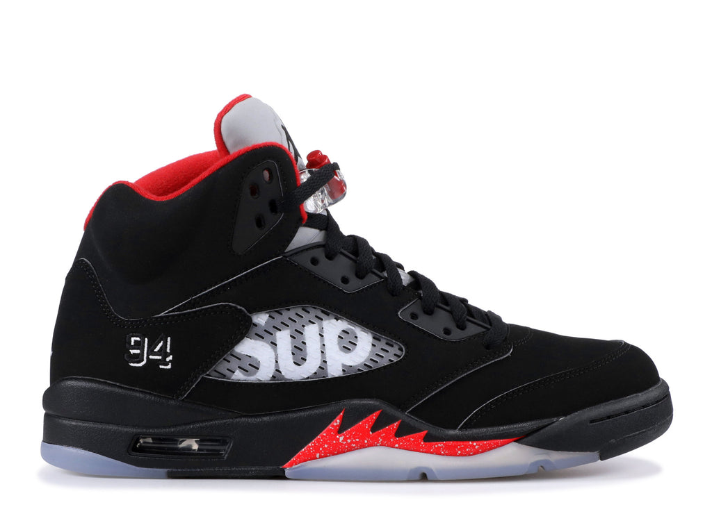 "AIR JORDAN 5 RETRO SUPREME ""BLACK"" 824371 001"
