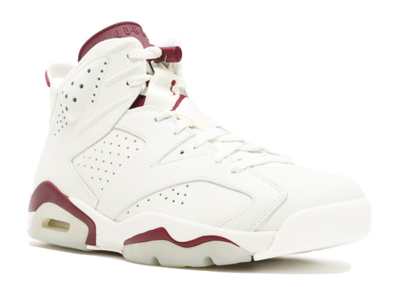 "Air Jordan 6 Retro ""Maroon"" 2015  384664 116"