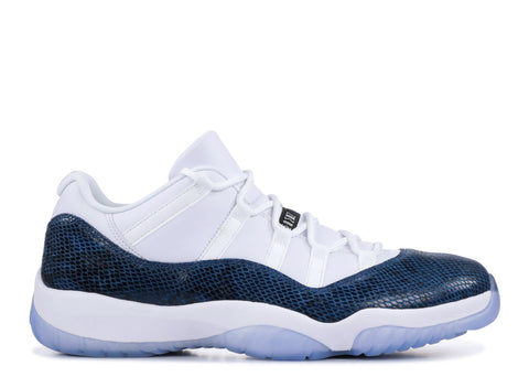 "Air Jordan 11 Low Retro ""NAVY SNAKESKIN"" CD6846 102"