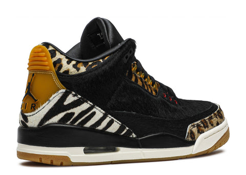 "Air Jordan 3 Retro ""ANIMAL""  CK4344 002 ."