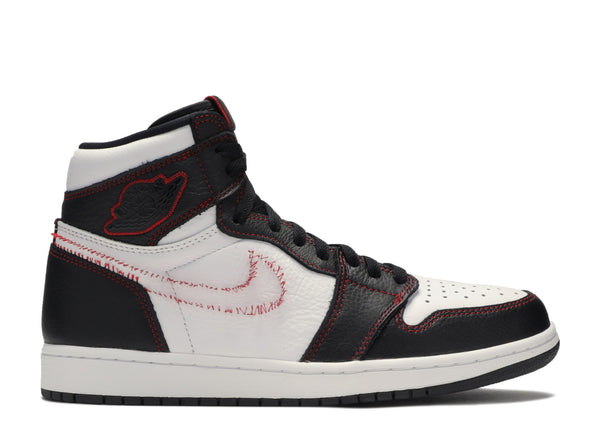 "AIR JORDAN 1 HIGH OG DEFIANT ""WHITE BLACK GYM RED"" CD6579 071"