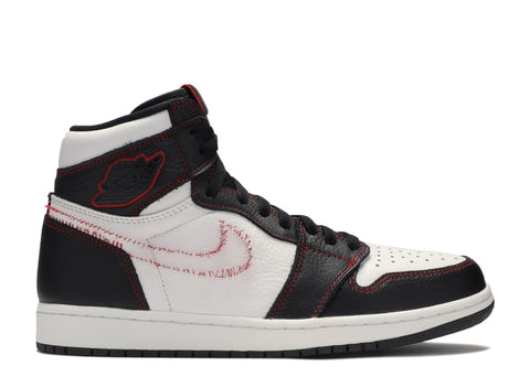 "AIR JORDAN 1 HIGH OG DEFIANT ""WHITE BLACK GYM RED"" CD6579 071 ."