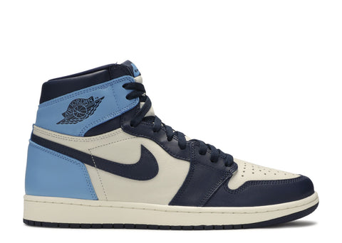 "Air Jordan 1 Retro High OG ""UNC Obsidian""  555088 140"
