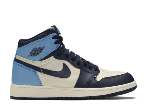 "Air Jordan 1 Retro High OG GS ""UNC Obsidian""  575441 140"