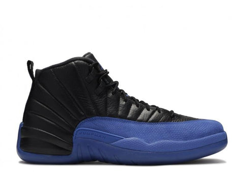"Air Jordan 12 Retro ""BLACK GAME ROYAL"" 130690 014"