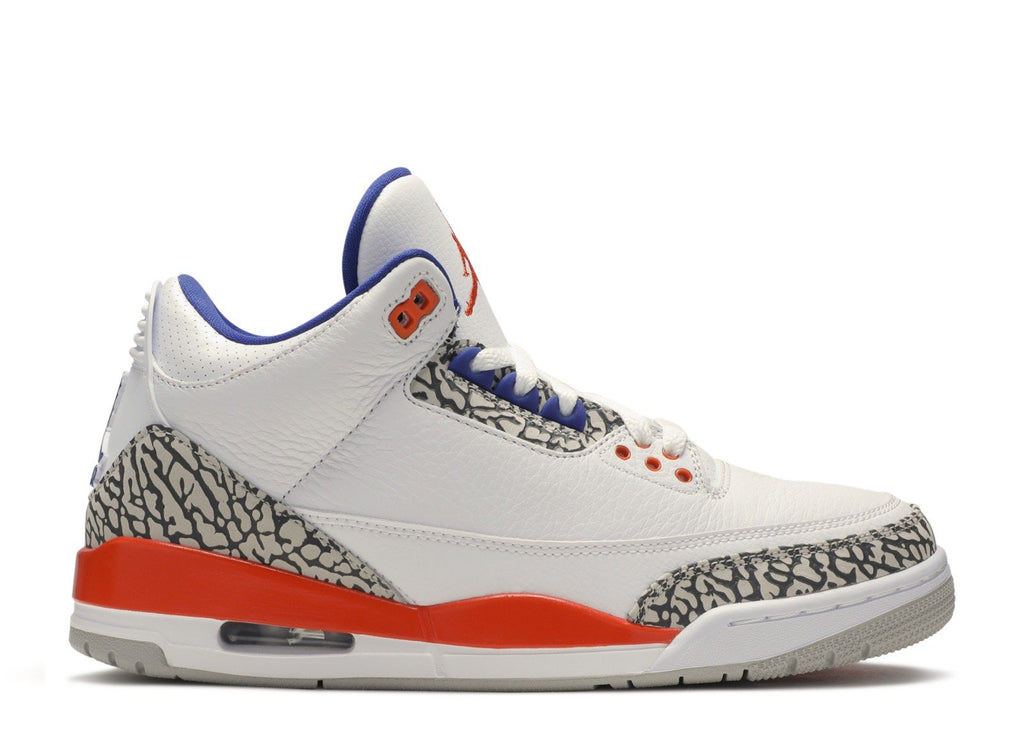 "AIR JORDAN 3 RETRO ""KNICKS"" 136064 148"