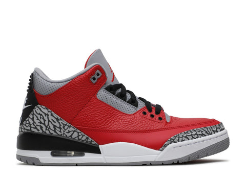 "AIR JORDAN 3 RETRO ""RED CEMENT CHI"" CU2277 600 ."