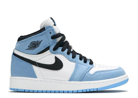 "Air Jordan 1 Retro High OG GS ""UNIVERSITY BLUE""  575441 134"