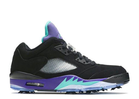 "AIR JORDAN 5 LOW GOLF ""BLACK GRAPE"" CU4523 001"
