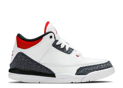 "Air Jordan 3 Retro PS ""FIRE RED DENIM"" DB034 100"