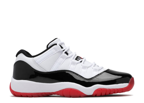 "Air Jordan 11 Retro Gs ""CONCORD BRED LOW"" 528896 160"
