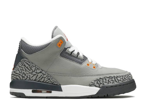 "AIR JORDAN 3 RETRO GS ""COOL GREY 2021"" 398614 012"